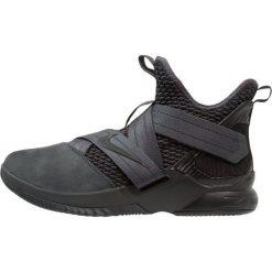Nike Performance LEBRON SOLDIER XII SFG Obuwie do koszykówki anthracite/black. Czarne buty skate męskie Nike Performance, z materiału. W wyprzedaży za 471,20 zł.