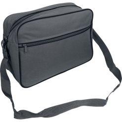 BagBase Retro Shoulder Bag Torba kurierska szary/czarny. Szare torby na ramię męskie marki Salomon, z gore-texu, na sznurówki, outdoorowe, gore-tex. Za 69,90 zł.