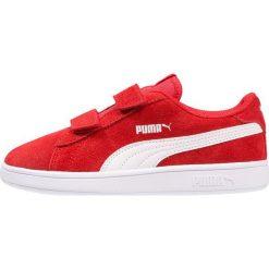 Puma SMASH V2 SD V PS Tenisówki i Trampki high risk red/white. Czerwone tenisówki męskie Puma, z gumy. Za 169,00 zł.