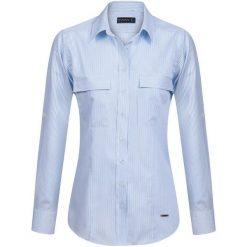 Sir Raymond Tailor Koszula Damska S Jasnoniebieski. Szare koszule damskie Sir Raymond Tailor, s, z bawełny, eleganckie. Za 159,00 zł.