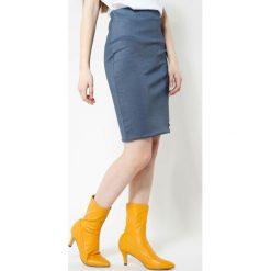 Spódniczki: Niebieska Spódnica Fitty