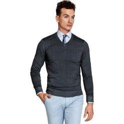 Sweter MARTINO SWPS000098. Niebieskie swetry klasyczne męskie Giacomo Conti, na lato, m, z wełny. Za 229,00 zł.