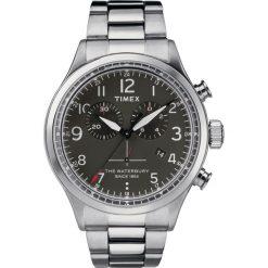 Timex - Zegarek TW2R38400. Czarne zegarki męskie marki Fossil, szklane. Za 599,90 zł.