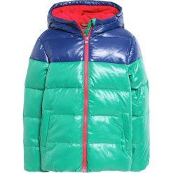 Odzież dziecięca: Benetton Kurtka puchowa green/dark blue
