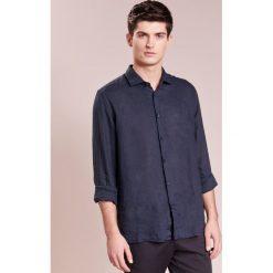 Koszule męskie na spinki: 120% Lino CAMICIA UOMO Koszula graphite