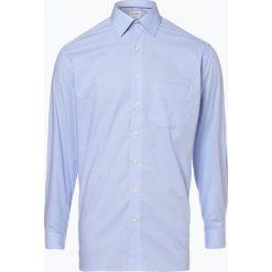 OLYMP Luxor comfort fit - Koszula męska niewymagająca prasowania, niebieski. Niebieskie koszule męskie non-iron marki OLYMP Luxor comfort fit, m, w kratkę. Za 129,95 zł.