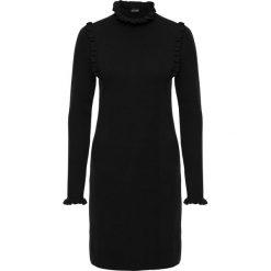 Sukienki balowe: Sukienka dzianinowa bonprix czarny