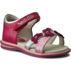 Sandały dziewczęce: Sandały NELLI BLU – C17SS726-1 Różowy Ciemny
