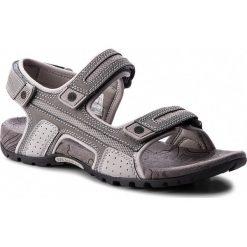 Sandały męskie skórzane: Sandały MERRELL - Sandspur Oak J598713  Grey