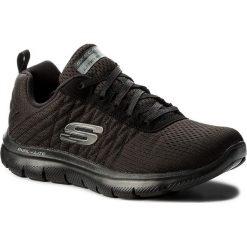 Buty SKECHERS - Break Free 12757/BBK Black. Niebieskie buty do fitnessu damskie marki Skechers. W wyprzedaży za 209,00 zł.