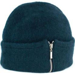Czapka damska Elegant zip morska. Zielone czapki zimowe damskie marki Art of Polo. Za 54,70 zł.