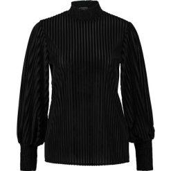 Bluzki asymetryczne: Navy London KAYLA Bluzka z długim rękawem black