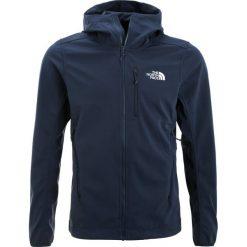 The North Face TANSA  Kurtka Softshell urban navy. Szare kurtki sportowe męskie marki The North Face, l, z materiału, z kapturem. W wyprzedaży za 479,20 zł.