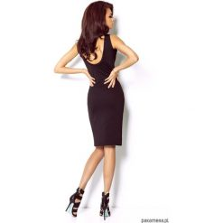 SUKIENKA LINDA czarny. Czarne sukienki mini marki Mohito, l, z dekoltem na plecach. Za 139,00 zł.