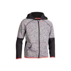 Bluza Thermic 500 Jr czar-róż. Czarne bluzy męskie ARTENGO, na zimę. Za 49,99 zł.