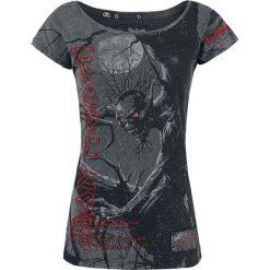 Iron Maiden EMP Signature Collection Koszulka damska ciemnoszary. Szare bluzki na imprezę Iron Maiden, xl, z nadrukiem, vintage, z dekoltem w łódkę. Za 114,90 zł.
