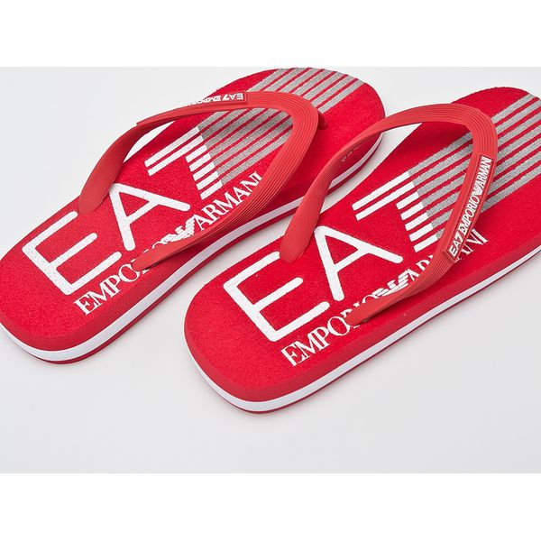 290771e1 EA7 Emporio Armani - Japonki - Czerwone klapki męskie EA7 Emporio ...