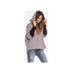Bluza damska kangurka z kapturem. Szare bluzy sportowe damskie Bien fashion, m, z bawełny, z długim rękawem, długie, z kapturem. Za 169,00 zł.
