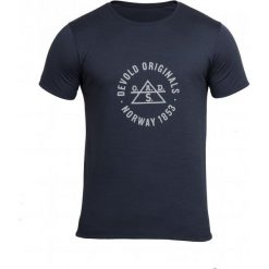 Odzież termoaktywna męska: Devold Męska Koszulka Original Tee Czarny S