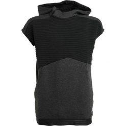 Bejsbolówki męskie: adidas Performance Bluza z kapturem black