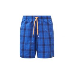Szorty i Bermudy  adidas  Szorty do pływania Check. Niebieskie bermudy męskie marki Adidas. Za 169,00 zł.