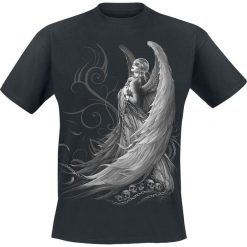 Spiral Captive Spirit T-Shirt czarny. Czarne t-shirty męskie z nadrukiem marki Spiral, s, z bawełny, z okrągłym kołnierzem. Za 74,90 zł.
