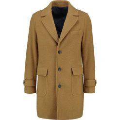 Płaszcze męskie: Benetton Płaszcz wełniany /Płaszcz klasyczny jaune