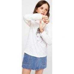 Bluzki dziewczęce bawełniane: Mango Kids - Bluzka dziecięca Nena 116-164 cm