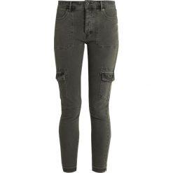 Free People UTILITY Jeans Skinny Fit moss. Szare boyfriendy damskie Free People, z bawełny. Za 409,00 zł.