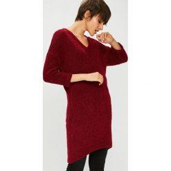 Medicine - Sweter Basic. Szare swetry klasyczne damskie MEDICINE, m, z dzianiny, z okrągłym kołnierzem. Za 119,90 zł.