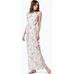 Marie Lund - Sukienka damska, niebieski. Niebieskie długie sukienki Marie Lund, w kwiaty, eleganckie, z falbankami. Za 349,95 zł.