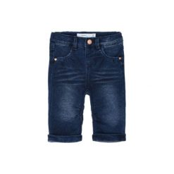 Name it Girls Spodnie Jeans Bony dark denim. Niebieskie spodnie chłopięce Name it, z bawełny. Za 89,00 zł.