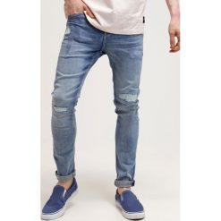 Cheap Monday Jeansy Slim Fit blue denim. Niebieskie rurki męskie Cheap Monday. W wyprzedaży za 209,30 zł.