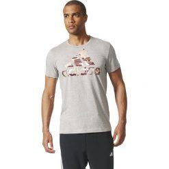 Adidas Koszulka BOS FOIL szara r. M (CD9218). Białe t-shirty męskie marki Adidas, l, z jersey, do piłki nożnej. Za 84,66 zł.
