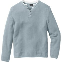 Swetry męskie: Sweter Regular Fit bonprix szary