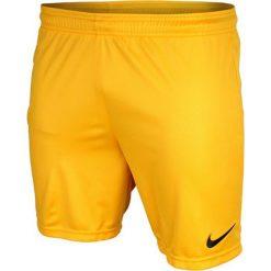 Nike Spodenki męskie Park  żółty r. S. Żółte spodenki sportowe męskie marki ATORKA, xs, z elastanu. Za 42,20 zł.