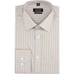 Koszule męskie: koszula versone 2754 długi rękaw custom fit beż