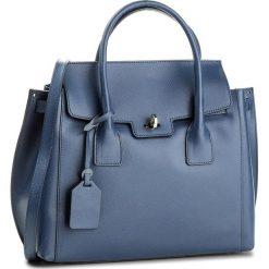 Torebka CREOLE - K10458 Granat. Niebieskie torebki klasyczne damskie Creole, ze skóry. W wyprzedaży za 239,00 zł.