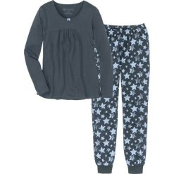 Piżama bonprix nocny niebieski - niebieski z nadrukiem. Niebieskie piżamy damskie bonprix, z nadrukiem. Za 74,99 zł.