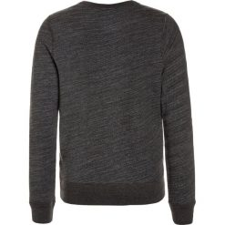 Swetry chłopięce: Abercrombie & Fitch TEXTURED LOGO CREW Sweter dark grey