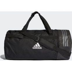 Torby podróżne: Adidas Adidas Torba Convertible 3-Stripes Duffel Large Czarny