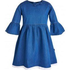 Sukienki dziewczęce z falbanami: Sukienka dżinsowa dla dziewczynki 9-13 lat