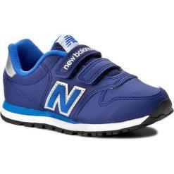 Trampki chłopięce: Sneakersy NEW BALANCE – KV500NLY Granatowy