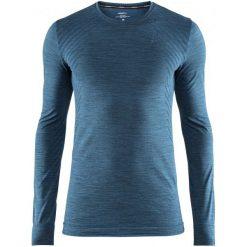 Craft Koszulka Sportowa Męska Fuseknit Comfort Ls Blue M. Niebieskie koszulki turystyczne męskie Craft, m, w paski. Za 135,00 zł.
