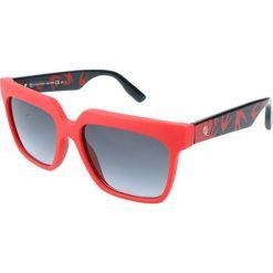 """Okulary przeciwsłoneczne damskie aviatory: Okulary przeciwsłoneczne """"0019/S RLU/HD"""" w kolorze czarno-czerwonym"""