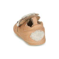 Kapcie niemowlęce Dziecko  Shoo Pom  CHOU MINI. Brązowe kapcie chłopięce marki Shoo Pom. Za 118,30 zł.