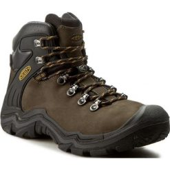 Buty trekkingowe męskie: Keen Buty trekkingowe męskie Madeira Peak Mid WP Raven/Bronze r. 43