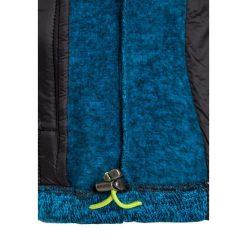 CMP FIX HOOD HYBRID Kurtka z polaru antracite/river/lime green. Niebieskie kurtki dziewczęce sportowe marki CMP, z materiału. W wyprzedaży za 129,35 zł.