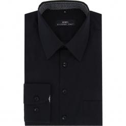 Koszula MARCO 16-04-27-K. Czarne koszule męskie na spinki marki Cropp, l. Za 199,00 zł.