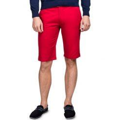Szorty ACHILLE SOTS000008. Czerwone szorty męskie Giacomo Conti, na lato, z bawełny. Za 169,00 zł.